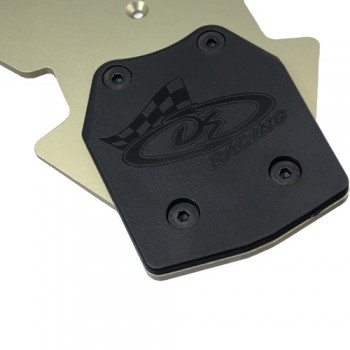 XD Rear Skid Plates for TLR 8ight-X / 8ight-XE