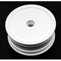 Borrego Wheels for Associated B4 / Customworks / Front / WHITE / 4Pcs