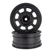 Speedway Buggy Wheels for Associated B6 / Customworks 4 / Front / BLACK / 4pcs