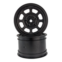 Speedway Buggy Wheels for Associated B6  / TLR 22  / Customworks 4 / Rear / BLACK / 4pcs