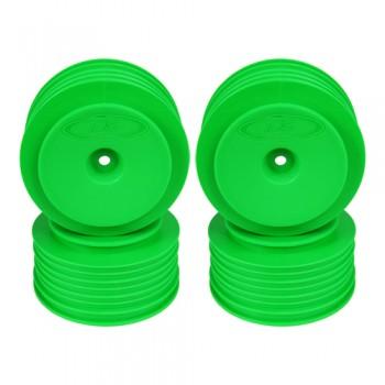 Speedline Plus SC Wheels for Associated SC5M-SC10 /+3mm/GREEN/4pcs