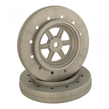 Gambler Wheels for Accelerator Tires / SILVER