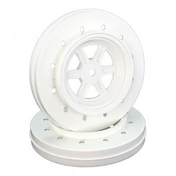 Gambler Wheels for Accelerator Tires / WHITE