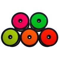 Sticker Disk for Borrego wheels / Fluorescent Green