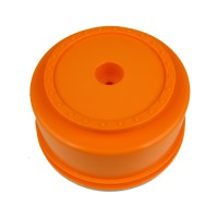 Borrego SC Wheels for Associated SC5M - SC10 - ProSC / +3mm / ORANGE