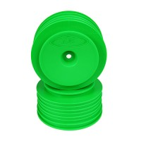 Speedline Plus SC Wheels for Associated SC5M - SC10 - ProSC / +3mm / GREEN