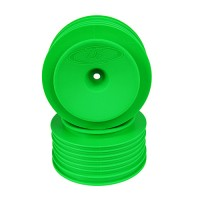 Speedline Plus SC Wheels for Kyosho Ultima SC / Traxxas Slash Rear - Slash 4x4 / GREEN