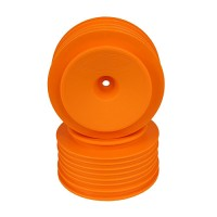 Speedline Plus SC Wheels for Kyosho Ultima SC / Traxxas Slash Rear - Slash 4x4 / ORANGE
