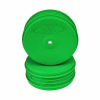 SpeedLine PLUS 2.4 Wheel for Associated B64 / TLR 22-4 / Kyosho ZX-6 / HB D413 / Front / GREEN