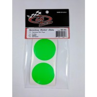 Sticker Disks for Speedway Mud Plugs / GREEN
