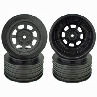 Speedway SC Wheels for Associated SC10 / SC5M / +3mm / 29mm BKSP / BLACK / 4Pcs.