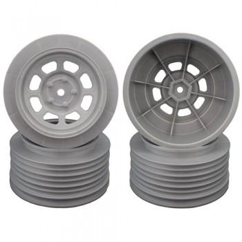 Speedway SC Wheels for Associated SC10 / SC5M / +3mm / 29mm BKSP / SILVER / 4Pcs.