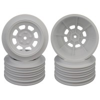 Speedway SC Wheels for Associated SC5M / +3mm / 29mm BKSP / WHITE / 4Pcs.