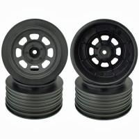 Speedway SC Wheels for Traxxas Slash Front / 19mm BKSP / BLACK / 4Pcs