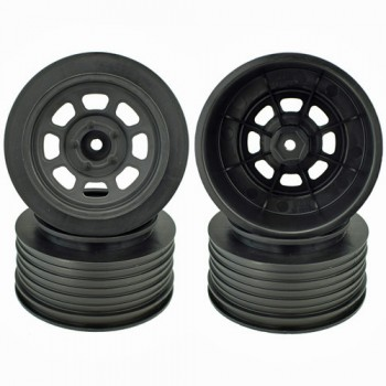Speedway SC Wheels for Traxxas Slash Front / 19mm BKSP / BLACK / 4Pcs