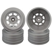 Speedway SC Wheels for Traxxas Slash Front / 19mm BKSP / SILVER / 4Pcs.