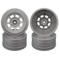 Speedway SC Wheels for Traxxas Slash Front / 19mm BKSP / SILVER / 4Pcs.