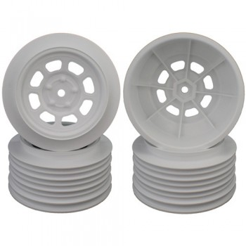 Speedway SC Wheels for Traxxas Slash Front / 19mm BKSP / WHITE / 4Pcs.