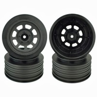 Speedway SC Wheels for Traxxas Slash Rear / 21.5mm BKSP / BLACK / 4Pcs