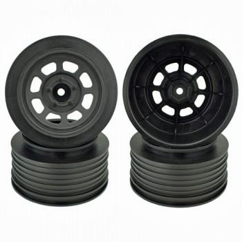 Speedway SC Wheels for Traxxas Slash Rear / 21.5mm BKSP / BLACK / 4Pcs