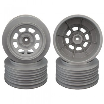 Speedway SC Wheels for Traxxas Slash Rear / 21.5mm BKSP / SILVER / 4Pcs.
