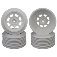 Speedway SC Wheels for Traxxas Slash Rear / 21.5mm BKSP / WHITE / 4Pcs.