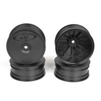Speedline Buggy Wheels for Associated B64 - B64D / TLR 22 3.0 - 4.0 / Front / BLACK / 4Pcs