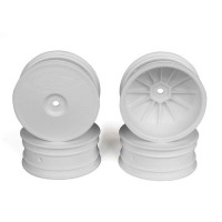 Speedline Buggy Wheels for Associated B64 - B64D / TLR 22 3.0 - 4.0 / Front / WHITE / 4Pcs