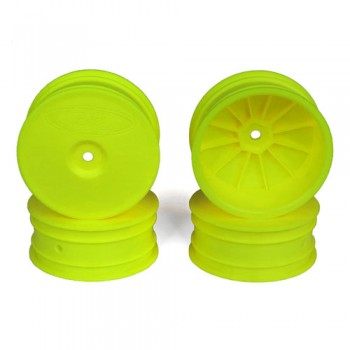 Speedline Buggy Wheels for Associated B64 - B64D / TLR 22 3.0 - 4.0 / Front / YELLOW / 4Pcs
