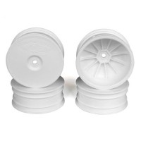 Speedline Buggy Wheels for TLR 22-4 / Tekno EB410 / Front / WHITE / 4Pcs