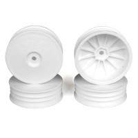 Slim Speedline Buggy Wheels for TLR 22  3.0 - 4.0 / Front / WHITE / 4Pcs