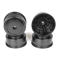 Borrego SC Wheels for Associated SC5M-SC10-ProSC/+3mm/BLACK/4pcs