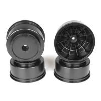 Borrego SC Wheels for Associated SC5M-SC10-ProSC/+3mm/BLACK/4pcs