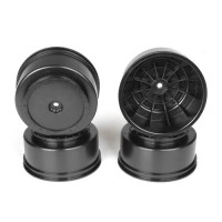 Borrego SC Wheels for TLR TEN-SCTE - 22SCT/Tekno SCT410/BLACK/4pcs