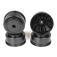 Borrego SC Wheels for Kyosho Ultima SC / HPI Blitz / Slash Rear - Slash 4x4 / BLACK / 4pcs
