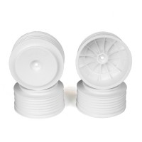Speedline Plus SC Wheels for Associated SC5M-SC10/+3mm/WHITE/4pcs