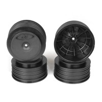 Speedline Plus SC Wheels for TLR 22SCT - TEN-SCTE / TEKNO SCT410 / BLACK / 4pcs