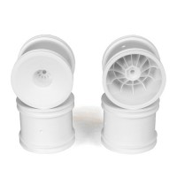 Speedline ST Wheels for Associated T5M / WHITE / 4pcs