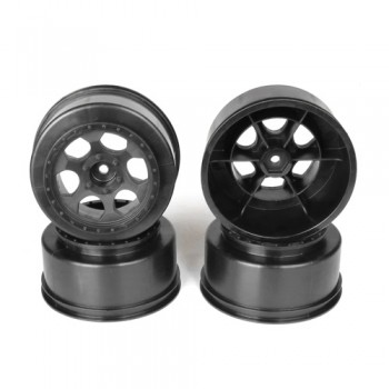 Trinidad SC Wheel for Traxxas Slash Front  / BLACK / 4pcs