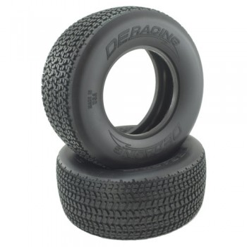 Grooved G6T SC Oval Tire /  D30 Compound / With Inserts / 2Pcs.