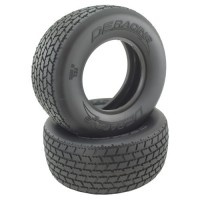 G6T SC Oval Tire / Clay Compound / With Inserts / 2Pcs.