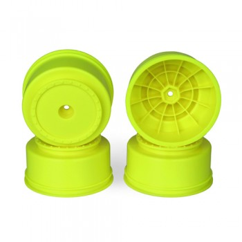 Borrego SC Wheels for Associated SC5M - SC10 - ProSC / +3mm/ YELLOW / 4pcs