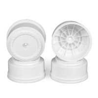 Borrego SC Wheels for Kyosho Ultima SC / HPI Blitz / Slash Rear - Slash 4x4 / WHITE / 4pcs