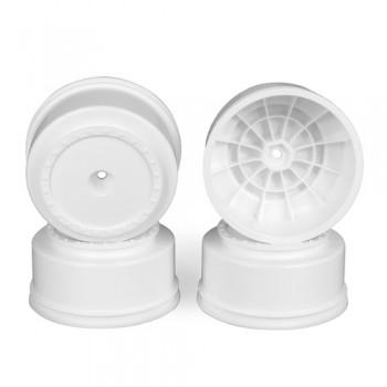 Borrego SC Wheels for Kyosho Ultima SC / HPI Blitz / Slash Rear - Slash 4x4 / WHITE / 4pcs