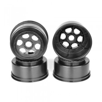 Trinidad SC Wheel for Associated SC8 - DB8 / 17mm Hex / BLACK / 4pcs