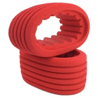 Red Closed Cell Inserts for Outlaw Sprint Rear Tires / 2 Pcs.