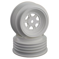 Gambler Front Wheels with 12mm Hex / AE Offset / WHITE