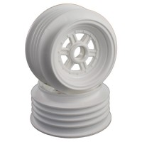 "Gambler Front Wheels for 3/8"" Bearing / Custom Works / GFRP / WHITE"