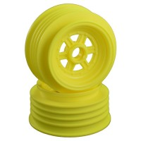 "Gambler Front Wheels for 3/8"" Bearing / Custom Works / GFRP / YELLOW"