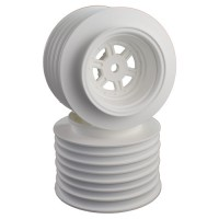 Gambler Rear Sprint Wheels with 12mm Hex / AE -TLR / WHITE